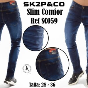 Jean Caballero SK2P&CO Slim Confort Ref SC059-2