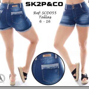 Short Dama SK2P&CO Ref SCD055