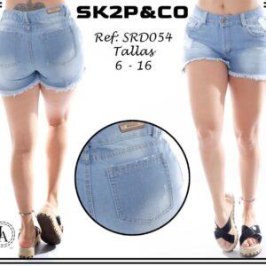 Short Dama SK2P&CO Ref SRD054