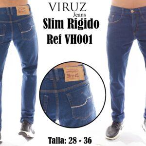 Jean Caballero Viruz Slim Rigido Ref VH001